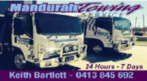Mandurah Towing Advert